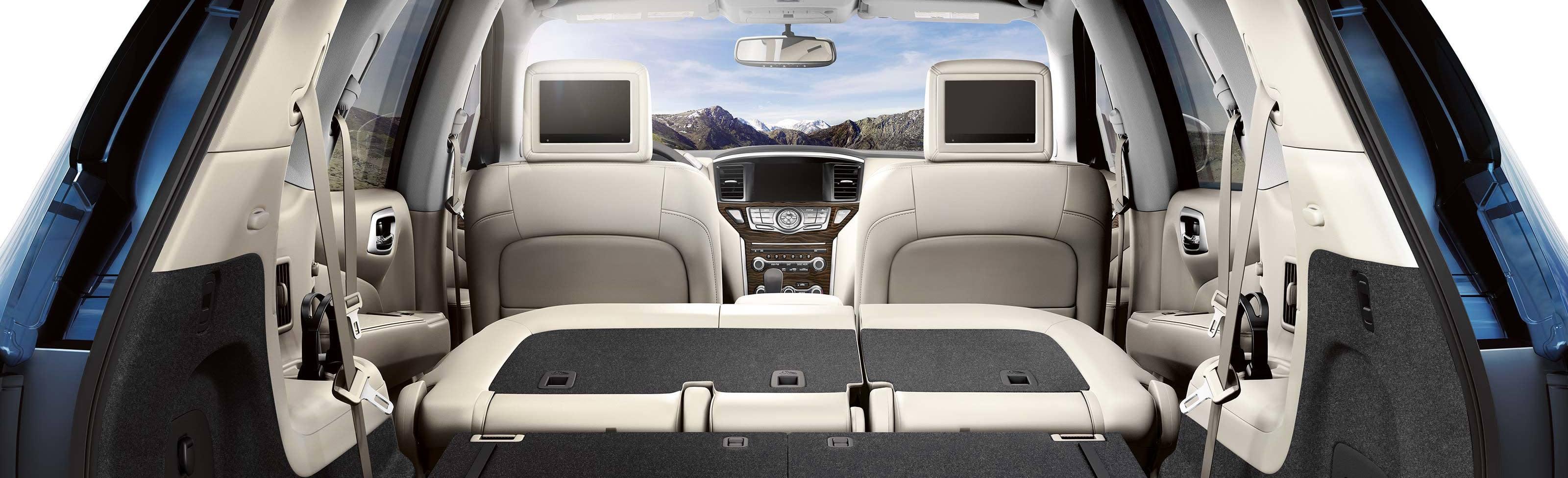 Cargo Room in the 2019 Nissan Pathfinder