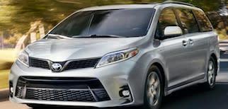 2019 Toyota Sienna Trim Comparison