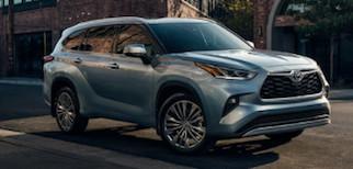 2020 Toyota Highlander Trim Comparison