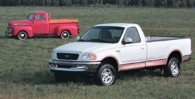 History of Ford F150 1998 and 1948 50 Year Anniversary