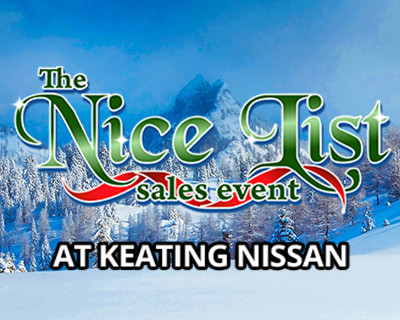 Keating Nissan Shop Specials