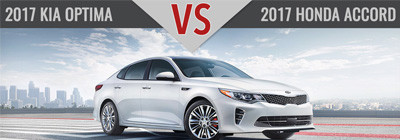 Kia Optima vs. Honda Accord Charlotte NC