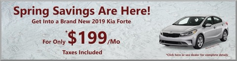 Kia Forte Lease Special
