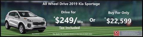 Kia Sportage Special Offer