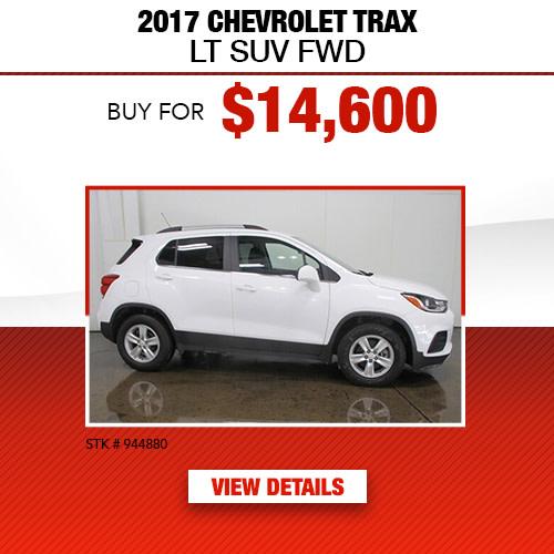 2017 Chevrolet Tax LT SUV FWD