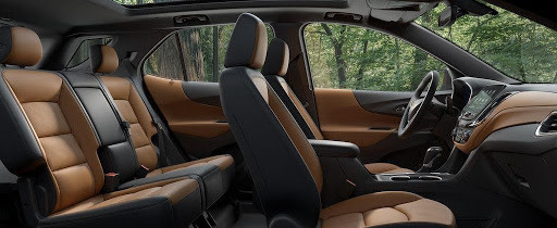 2020 Chevrolet Equinox Front and Rear Seats