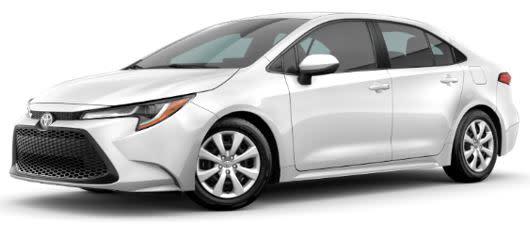 Zero Money Down Lease on a Toyota Corolla