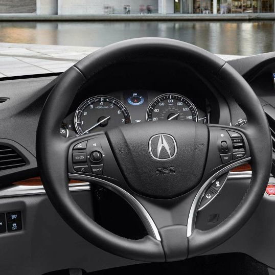 Available Steering Wheel-Mounted Controls