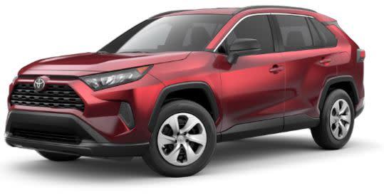 Zero Money Down Lease on a Toyota Rav4 SUV
