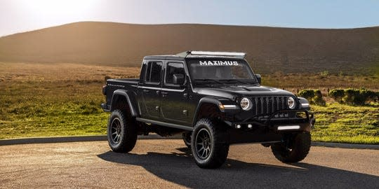 692b2c906 The company announced that they are finally accepting orders for the 2020  Hennessey MAXIMUS 1000, a Jeep pickup variant that's aptly named after the  star ...