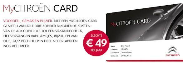 My Citroen Card Lid Worden Bij Autobedrijf Blekkink