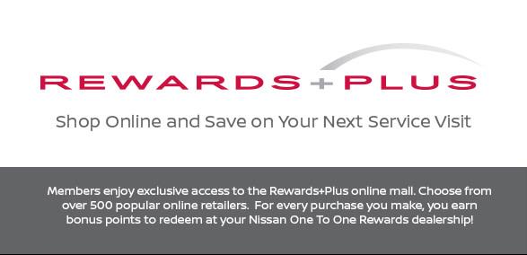 One to One Rewards - Legend Nissan