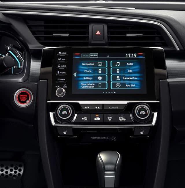 2020 Honda Civic Touchscreen