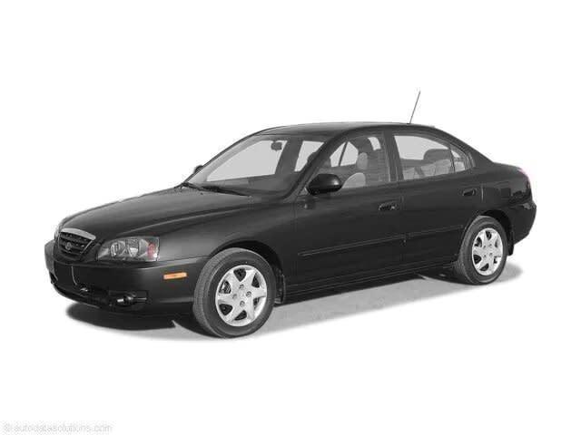 2004 Hyundai Elantra Sedan