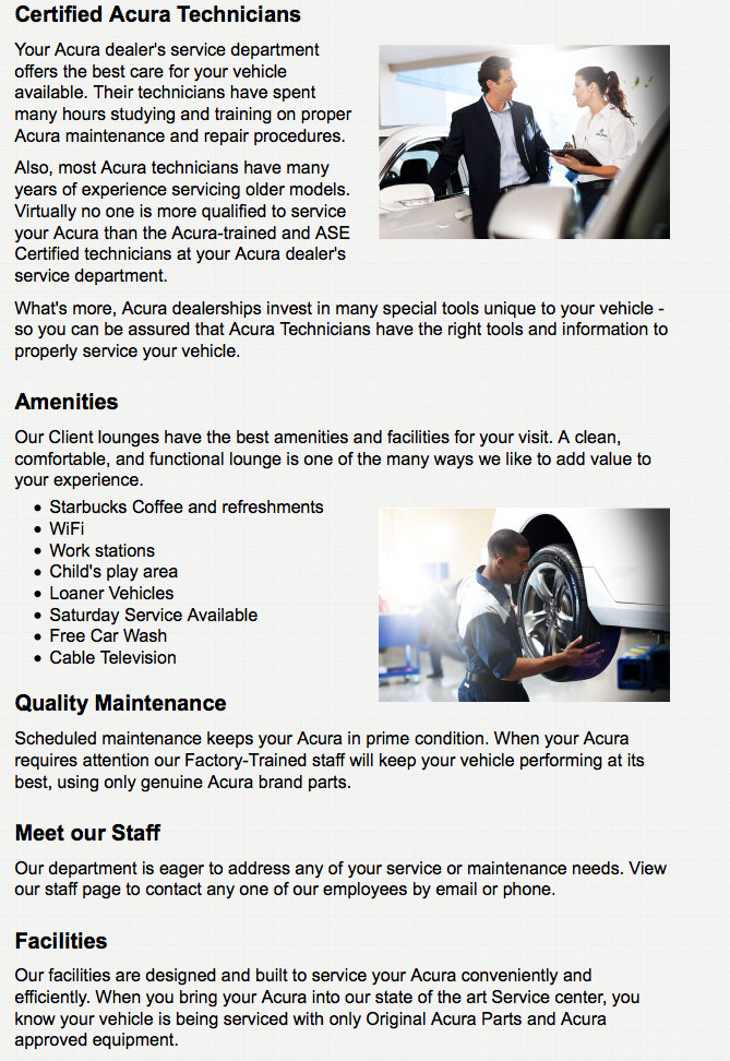 Certified Acura Technicians At Ball Acura Ball Acura