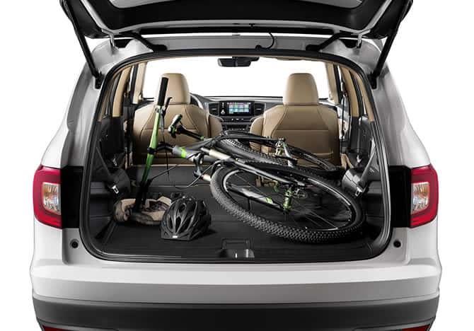 La Honda Pilot 2019 cuenta con amplio espacio de carga