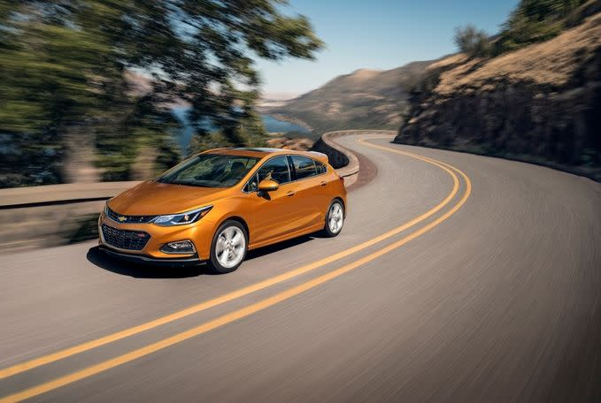 2018 Chevrolet Cruze Leasing near Schererville, IN