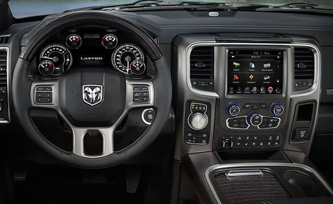 Interior of the Ram 1500