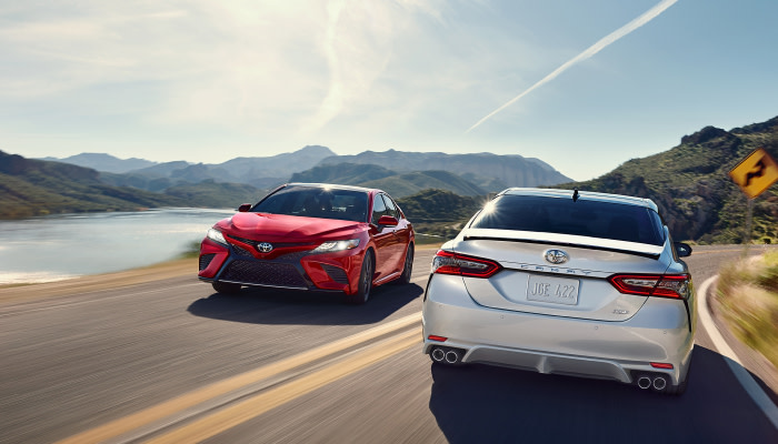 Stay safe inside the 2019 Toyota Camry