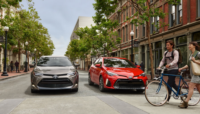 Finance a new 2019 Toyota Corolla from Uebelhor Toyota near French Lick, IN
