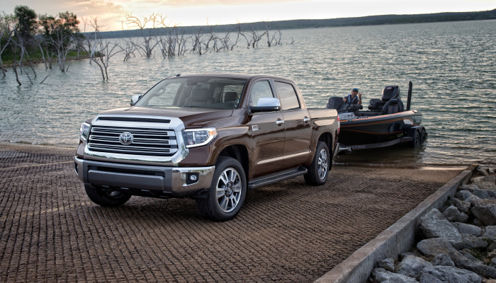 The 2019 Toyota Tundra can tow any payload