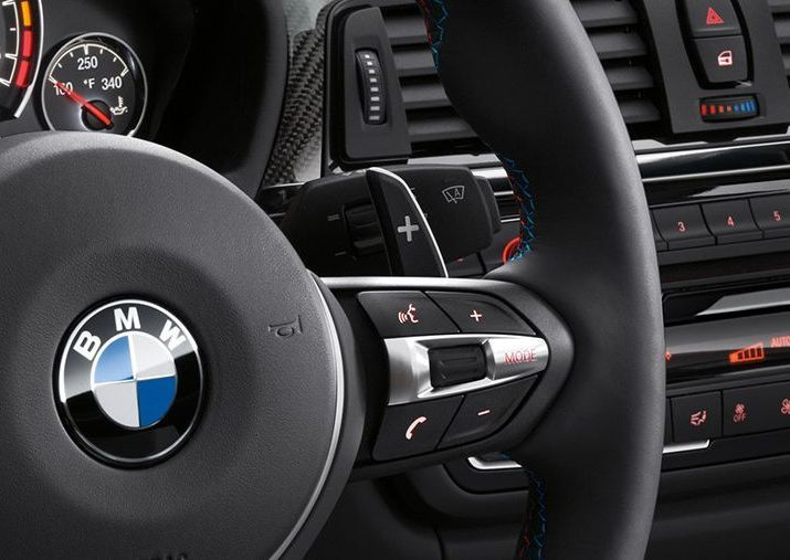 Steering Wheel-Mounted Audio Controls on the M4