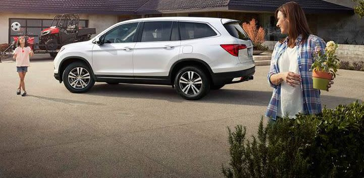 2016 Honda Pilot vs 2016 Hyundai Tucson near Washington, DC