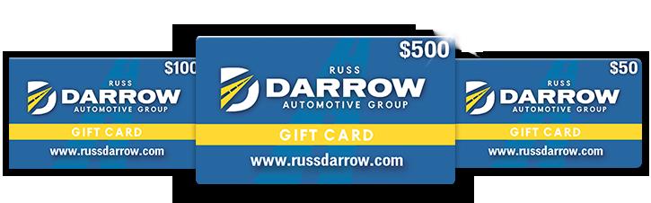 Russ Darrow Gift Cards