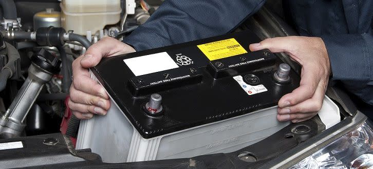 Have Your Battery Checked or Replaced in Frankfort, IL