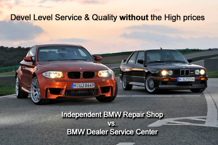 a56b2e9a3f Independent BMW Greensboro Shop VS. BMW Dealer Service near ...