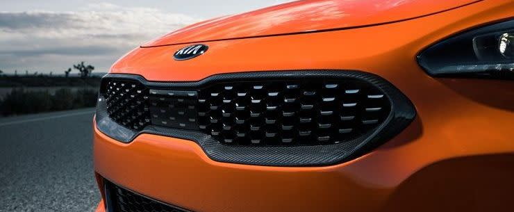 Front Grille of the 2020 Stinger GTS