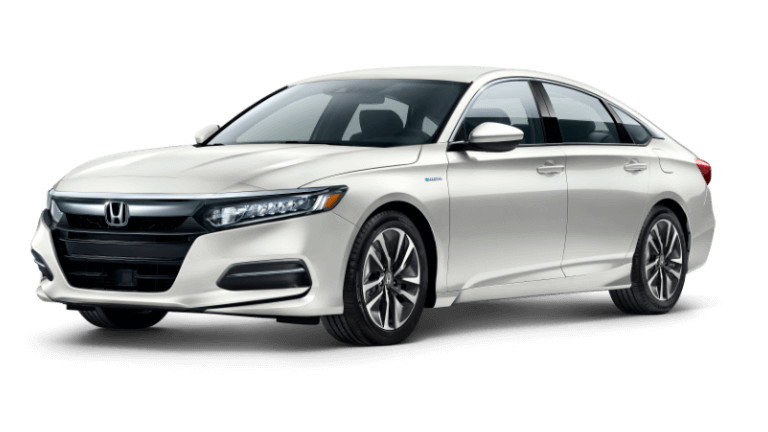 2019 Honda Accord Hybrid - Platinum White