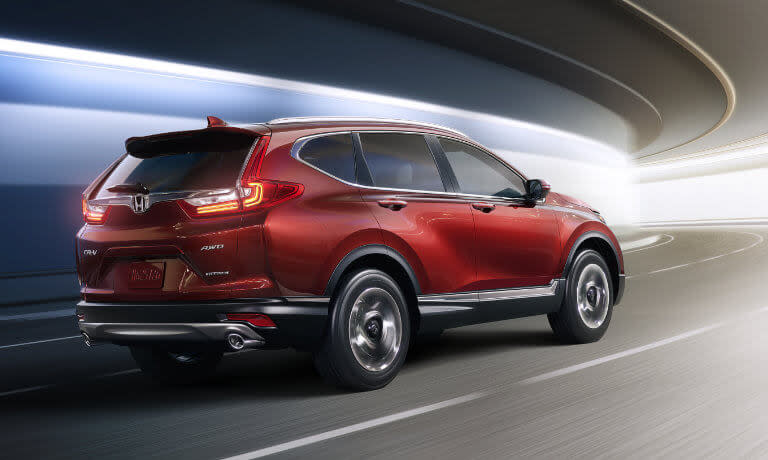 2019 Honda CR-V exterior fast light tunnel