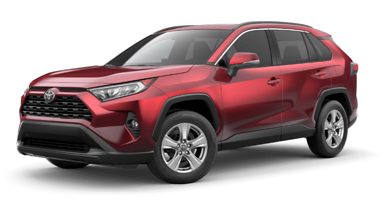 2019 Toyota RAV4 XLE - Red