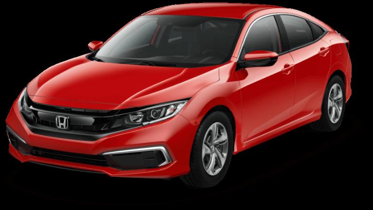 2020 Honda Civic LX - Rallye Red