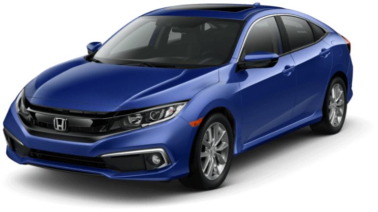 2020 Honda Civic EX - Aegean Blue