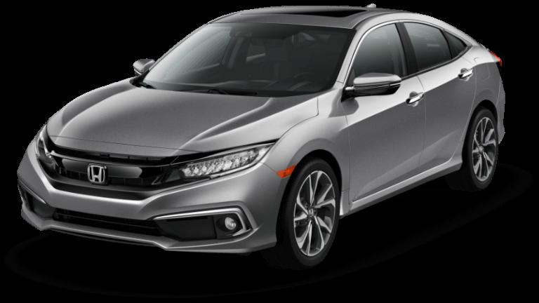 2020 Honda Civic Touring - Lunar Silver