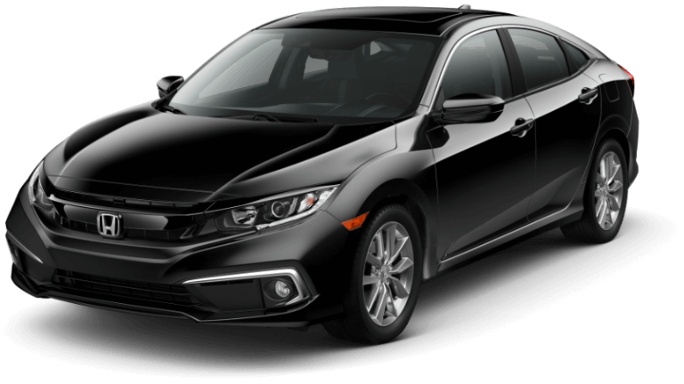 2020 Honda Civic EX-L - Crystal Black