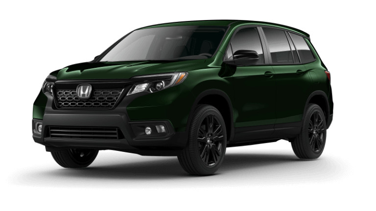 2019 Honda Passport Sport - green