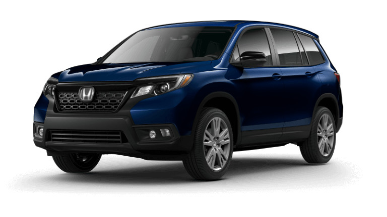 2019 Honda Passport EX-L - blue