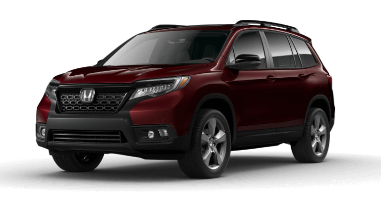 2019 Honda Passport Touring - maroon