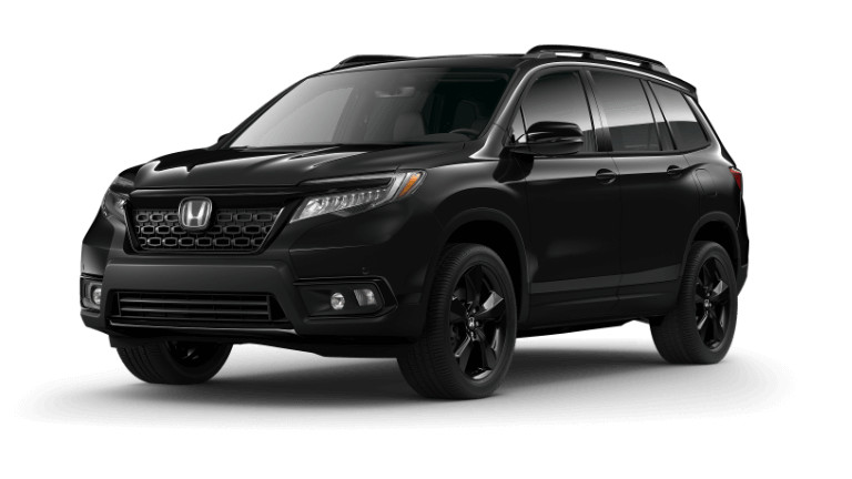 2019 Honda Passport Elite - black