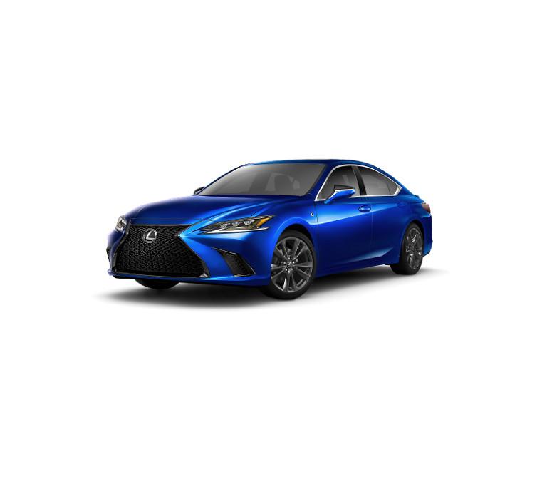 2019 Lexus ES 350 F Sport - blue