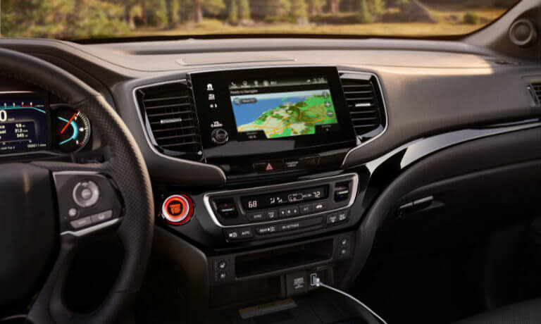 Honda Passport infotainment