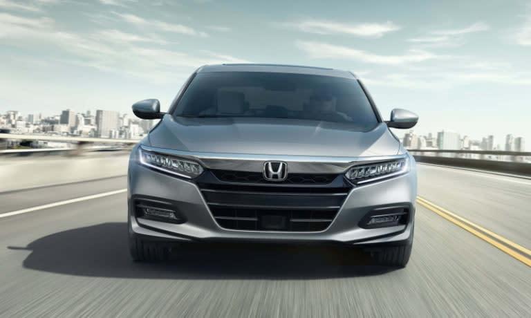 2020 Honda Accord front view driving