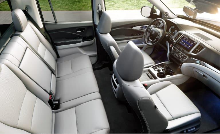 Honda Ridgeline interior seating