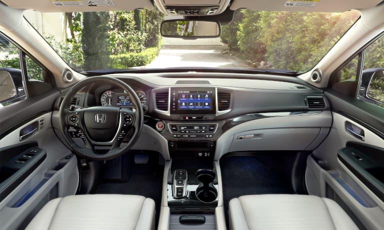 2020 Honda Ridgeline interior drive seat
