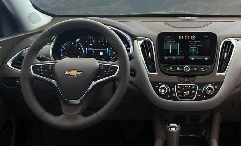 2017 Chevy Malibu Interior Dashboard