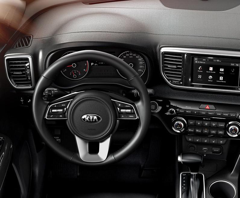 2020 Kia Sportage Steering Wheel