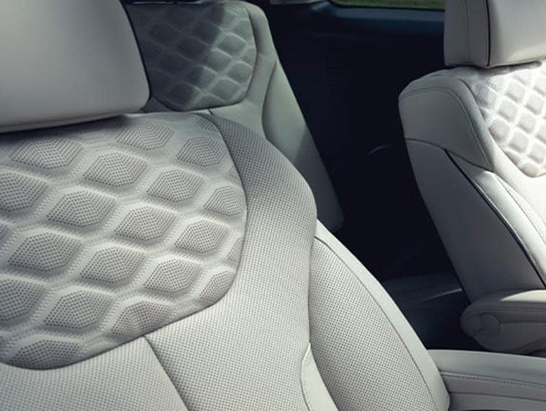 leather seat in 2020 Hyundai Palisade